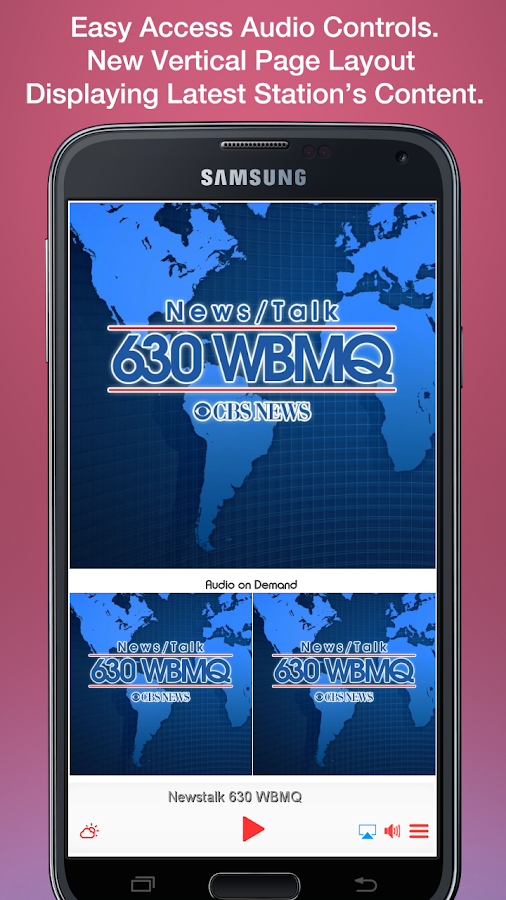 Newstalk 630 WBMQ- screenshot