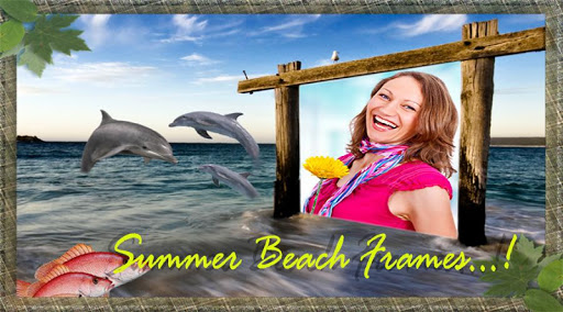 Summer Beach Frames