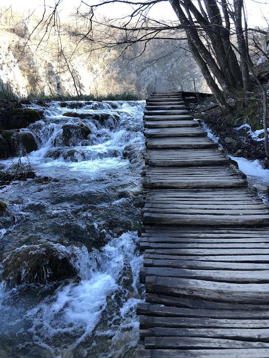 Bridge at Plitvice Lakes National Park