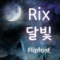 RixMoonlight™ Korean Flipfont icon