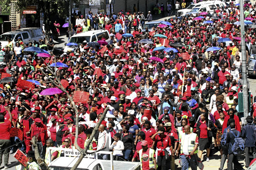 Cosatu is embarking on a strike today that it hopes will bring all nine provinces to a standstill and highlight the fight against job losses.