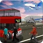 Tourist Airplane Transporter - Flight Simulator 3D icon