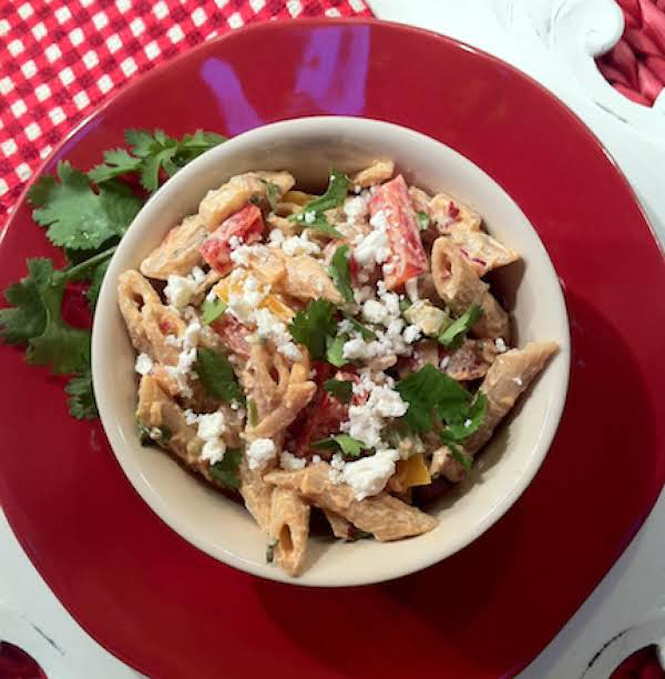It's Spicy, Smoky, Fresh And Delicious, This Southwestern Version Of Pasta Salad Will Quickly Become One Of Your Favorites!