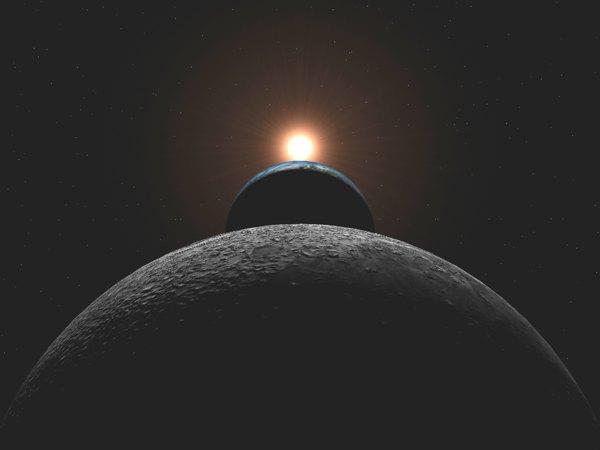 Sun Earth Moon
