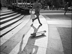 Photo: +Simon Garnier went out shooting together and ran into a group of skateboarders in Lower Manhattan. shooting them was a new challenge for me.