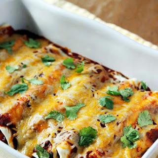 Black Bean, Spinach, and Corn Enchiladas Recipe