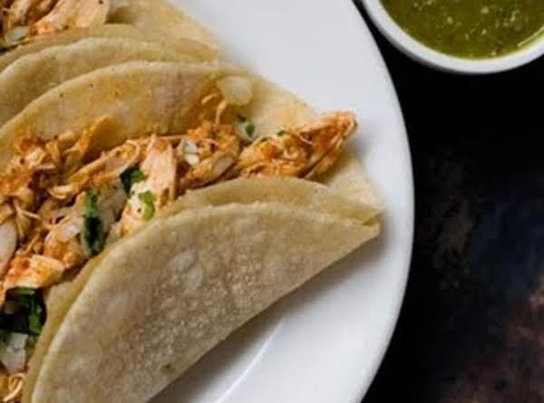 Chicken Chipotle Tacos