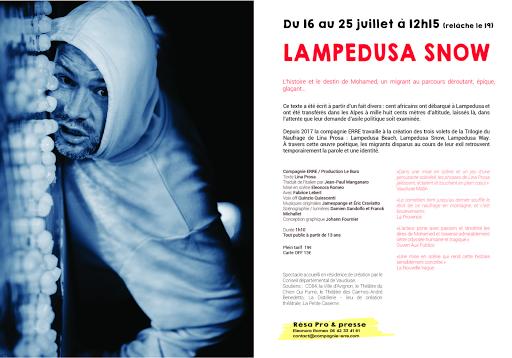 Lampedusa snow