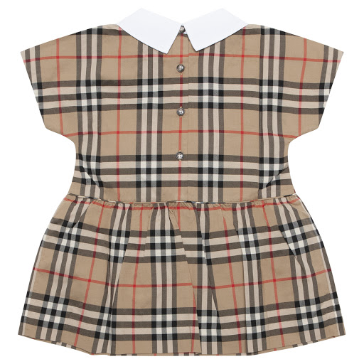 Thumbnail images of Burberry Baby Patterned Dress