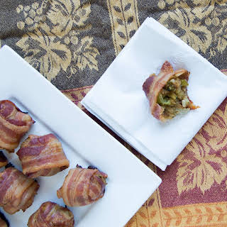Bacon-wrapped Stuffing Balls.