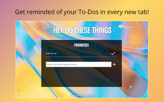 DooToDoo - A New Tab To-Do List with Robots