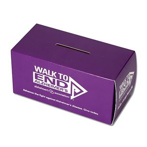 Donation Boxes are an awesome and easy way to fundraise for the Walk! It's a great way to spread awareness about the Walk plus everyone always has spare change. Keep it at your desk, your local pizza shop, or a busy place of business and watch the change pile up!