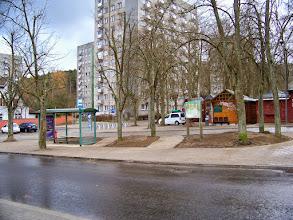 Photo: Ul. 23 - Marca, pętla autobusowa - Początek szlaku