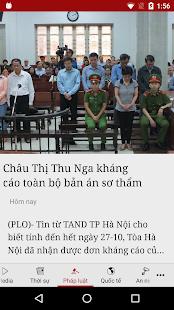 Báo Pháp Luật Tp. HCM - náhled