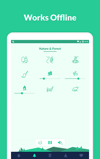 Sleepo: Relaxing sounds, Sleep  screenshots 16