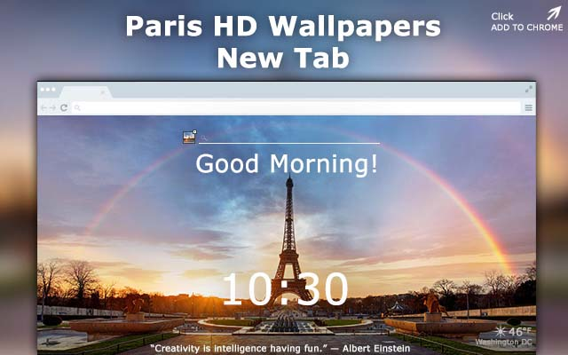 Paris hd wallpapers chrome web store - Chrome web store wallpaper ...