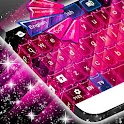 Hearts Galaxy Keyboard icon