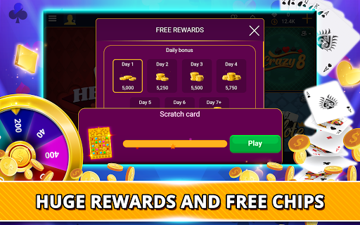 VIP Games: Hearts, Rummy, Yatzy, Dominoes, Crazy 8 android2mod screenshots 14