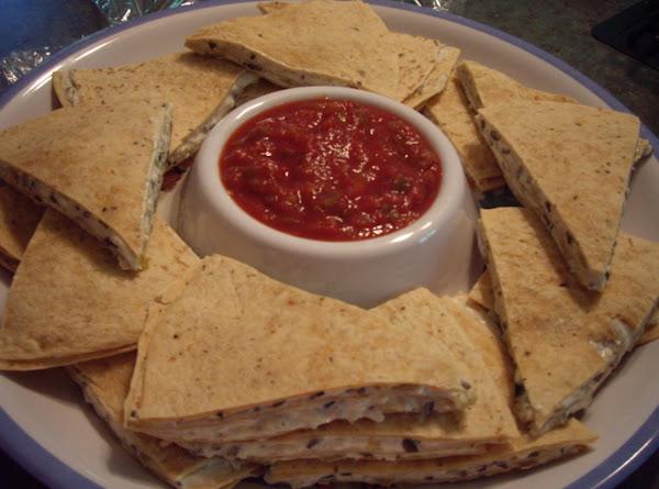 Ciao Bella Triple Decker Tortilla  Wedges Recipe