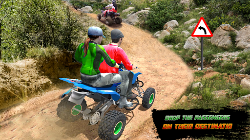 ATV Quad Bike Cargo Simulator Stunt Racing android2mod screenshots 1