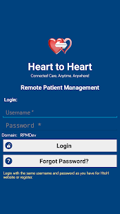 HeartToHeart - Remote Patient Management - náhled