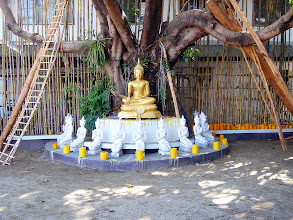 Photo: Candles & Buddha