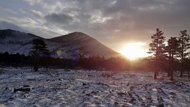 Photo: Hladno jutarnje sunce s desne, a osvježavajuća bura s lijeve strane...