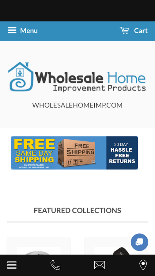 Wholesale Home Improvement- screenshot