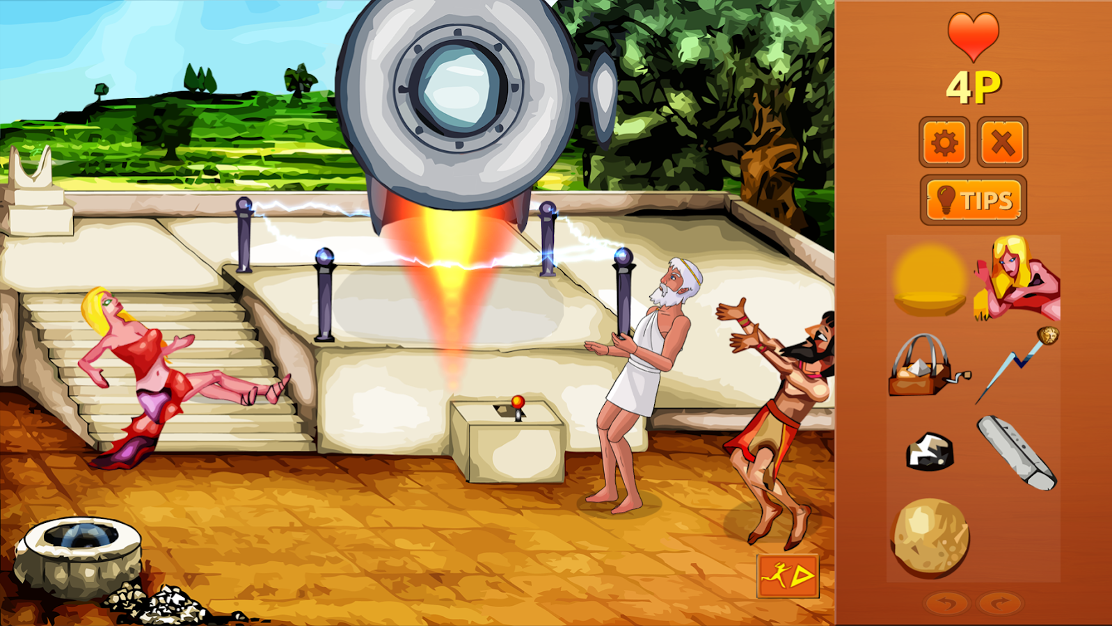 Zeus Quest Remastered Lite- screenshot