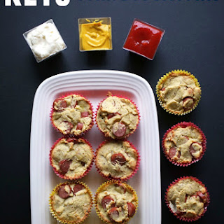 Keto Corn Dog Muffins