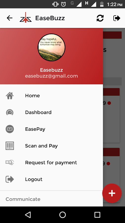 Easebuzz- screenshot