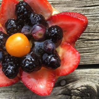 Gluten free and Vegan Fruit Tarts.
