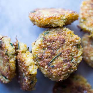 Zucchini Quinoa Mini Fritters.