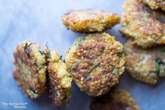 Zucchini Quinoa Mini Fritters Recipe