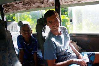 Photo: Bus ride, Savaii Samoa