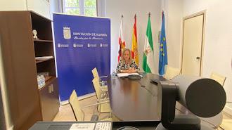 María Luisa Cruz en el Foro del Deporte desde Diputación.