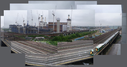 Photo: The iconic Battersea Power  Station (during redevelopment)