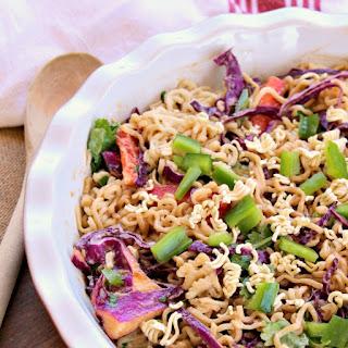 Honey Pepper Ramen Noodle Salad