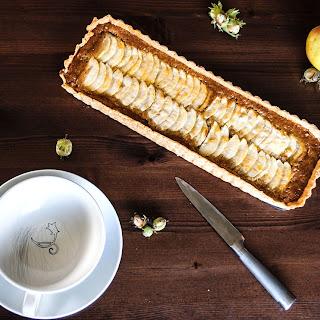 Apple & Hazelnut Frangipane Tart