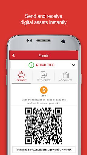 ANX Vault: Your Bitcoin Wallet screenshots 5