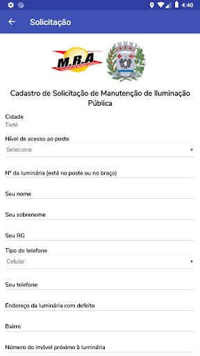 Tietê Iluminação Pública screenshot 3