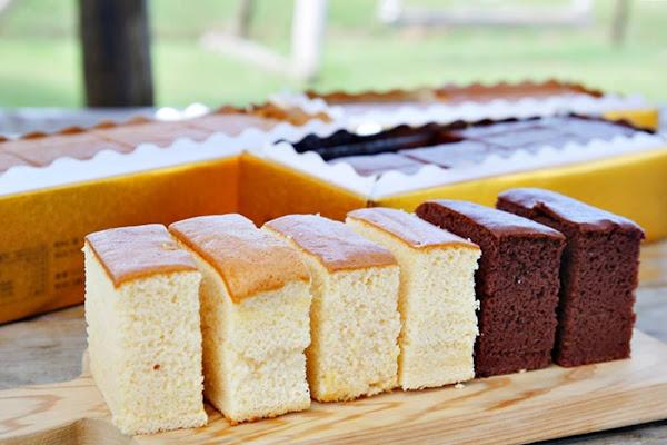 台中大雅長崎蛋糕專賣 福久長崎蛋糕 原味雙目糖巧克力三種口味