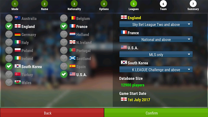 Football Manager Mobile 2018 Android App Screenshot