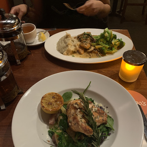 rosemary chicken and the chicken marsala— so good!