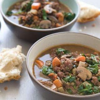 Hearty Lentil and Sausage Soup