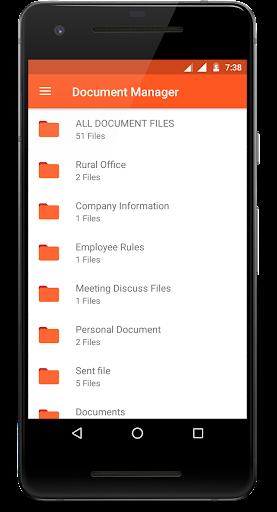 Document Manager 1.1 screenshots 1