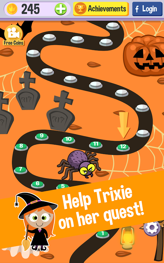Word Witch: Halloween Word Fun- screenshot