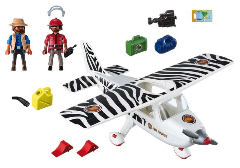 Contenido de Playmobil® 6938 Avión Safari