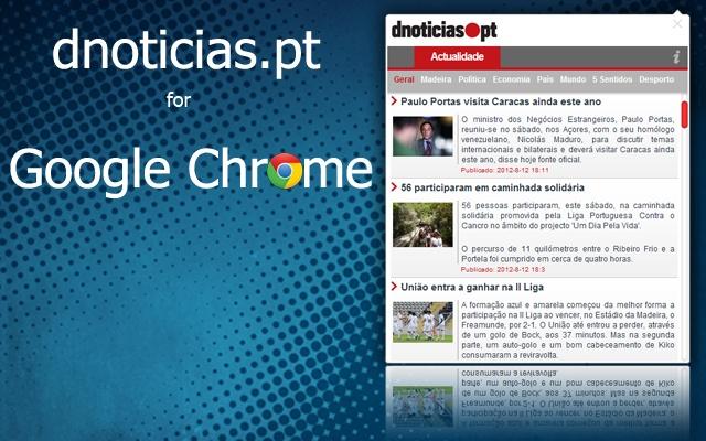 DNOTICIAS.PT for Google Chrome