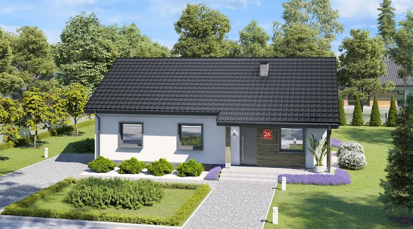 Projekt domu Dom przy Bukowej 26 (95 m2)